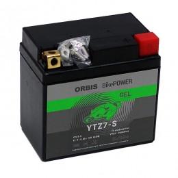 Orbis Motorradbatterie 12V 6Ah Gel YTZ7-S GEL12-7Z-S