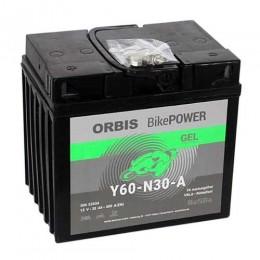 Orbis Motorradbatterie 12V 30Ah Gel Y60-N30-A GEL53034