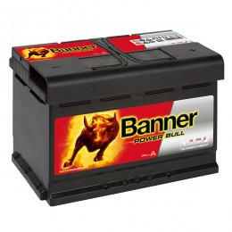 Banner P7412 Power Bull 74Ah 680A Autobatterie