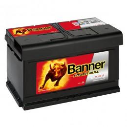 Banner P8014 Power Bull 80Ah 700A Autobatterie