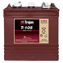 Trojan T105 Deep-Dycle 6V 225Ah Traktionsbatterie