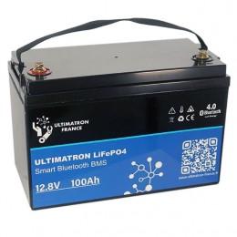 Ultimatron LiFePO4 100Ah 12,8V Smart-BMS YX-12V-100ah