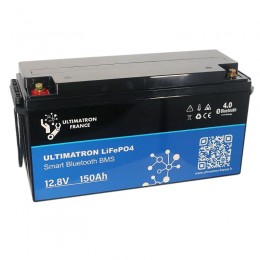 Ultimatron LiFePO4 150Ah 12,8V Smart-BMS YX-12V-150Ah