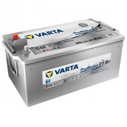 Varta C40 Promotive Silver EFB 240Ah LKW-Batterie (E9N)